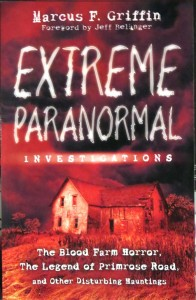 Book cover for Marcus F Griffin book Extreme Paranormal