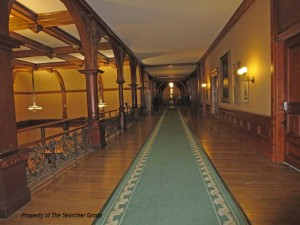 Photo of a hallway at Queens Park